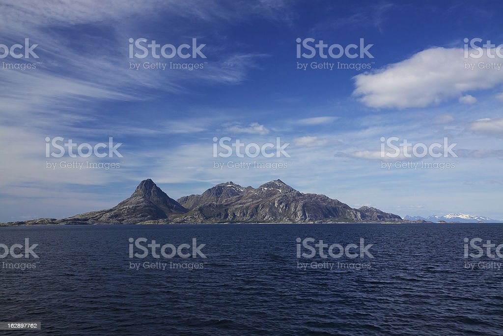 Island royalty-free stock photo
