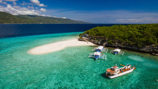 island - philippines stock photos and pictures