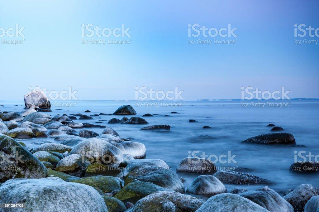 Insel Rügen, Deutschland, Mecklenburg-Vorpommern (Mecklenburg-Vorpommern) im winter – Foto