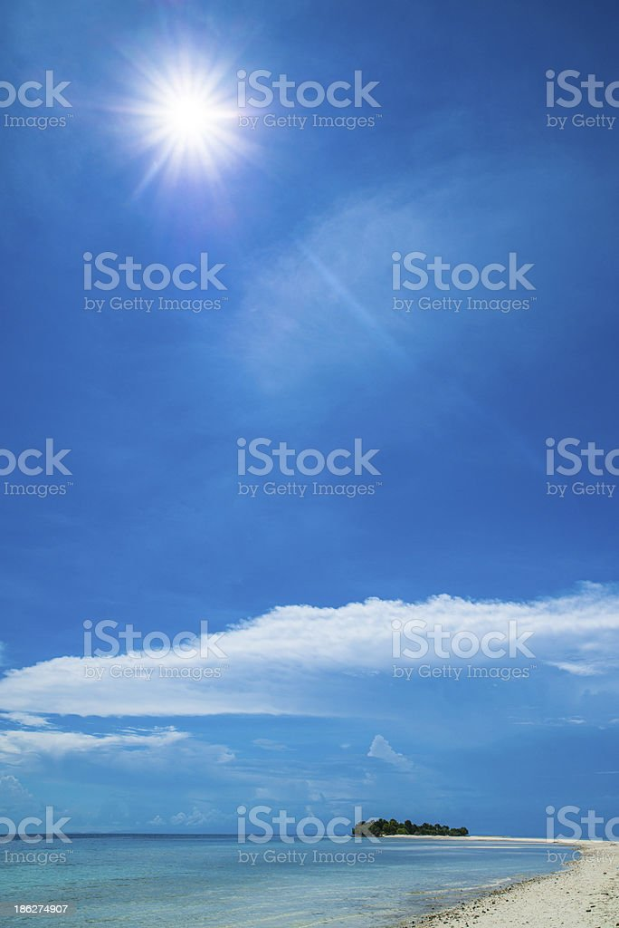 island scape royalty-free stock photo