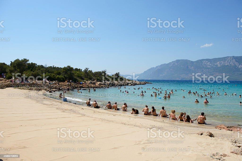 Island Sedir(Island Cleopatra) stock photo