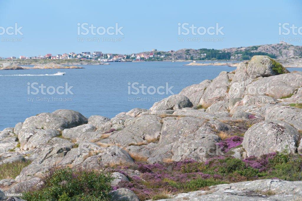 Island summer royalty-free stock photo