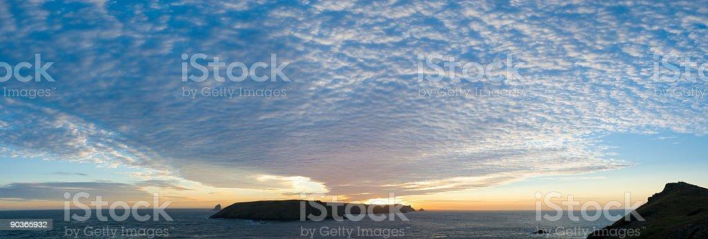 Island sunrise royalty-free stock photo