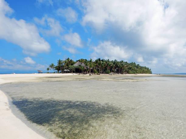 Island view in Fiji stock photo