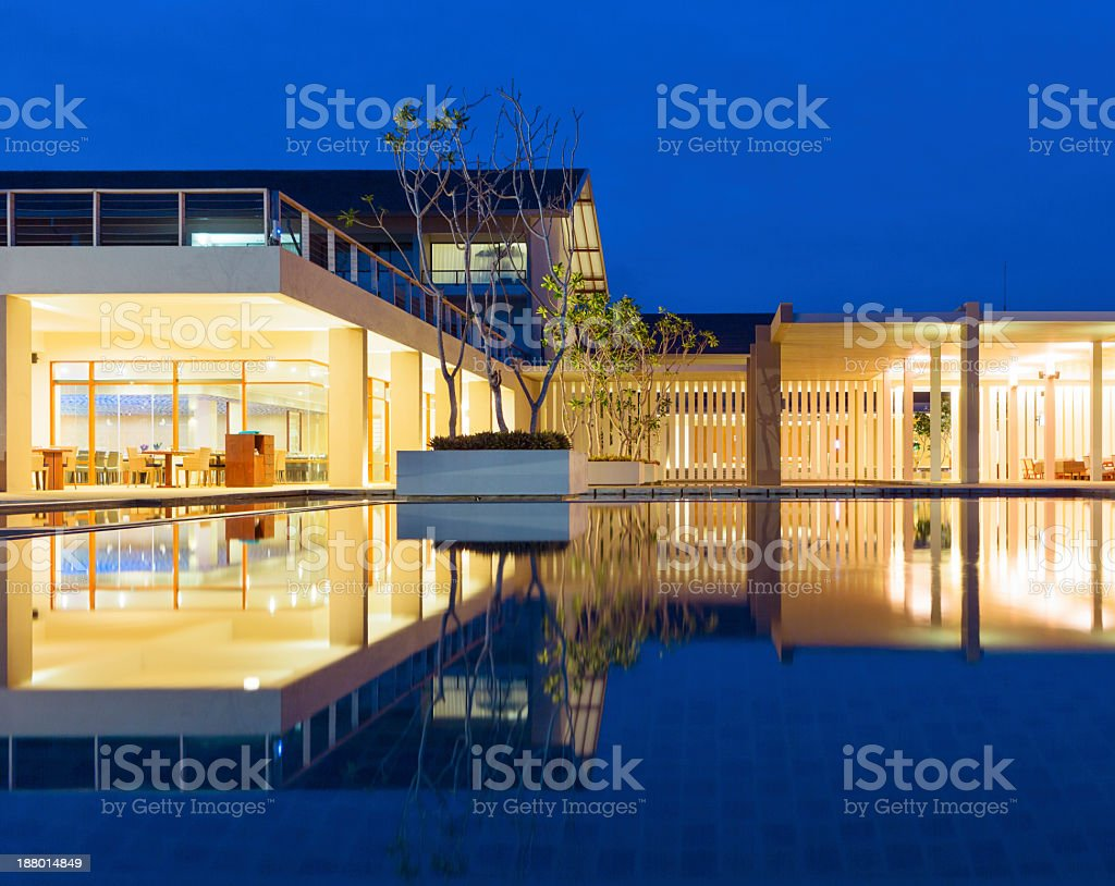 Island Villa royalty-free stock photo