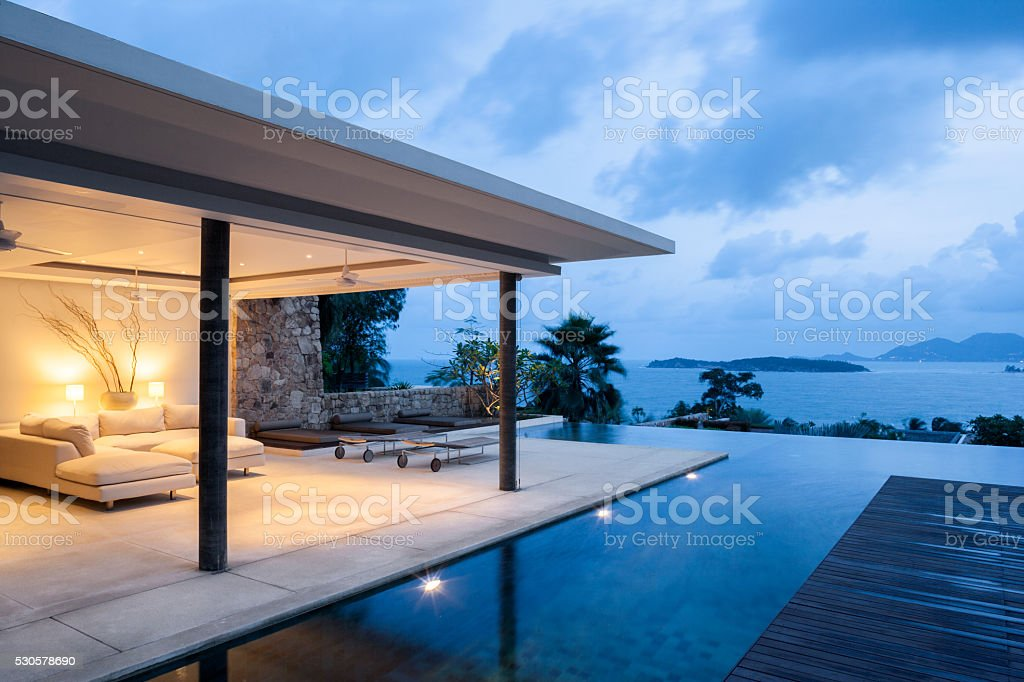 Island Villa - foto de acervo