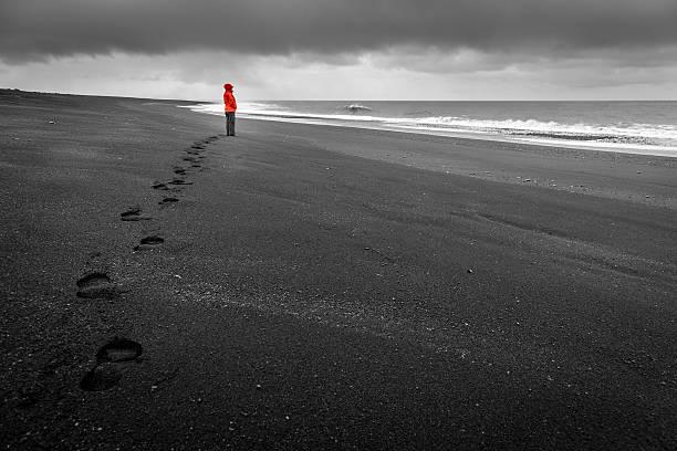 Islandic coast - foto de stock