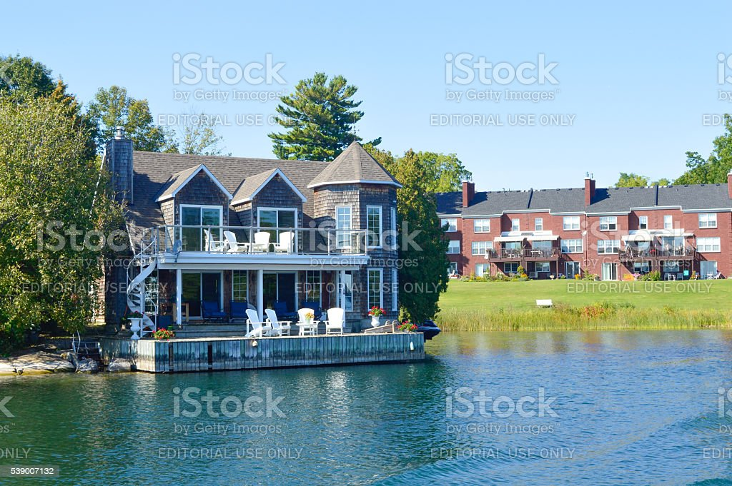 Islands and Kingston stock photo
