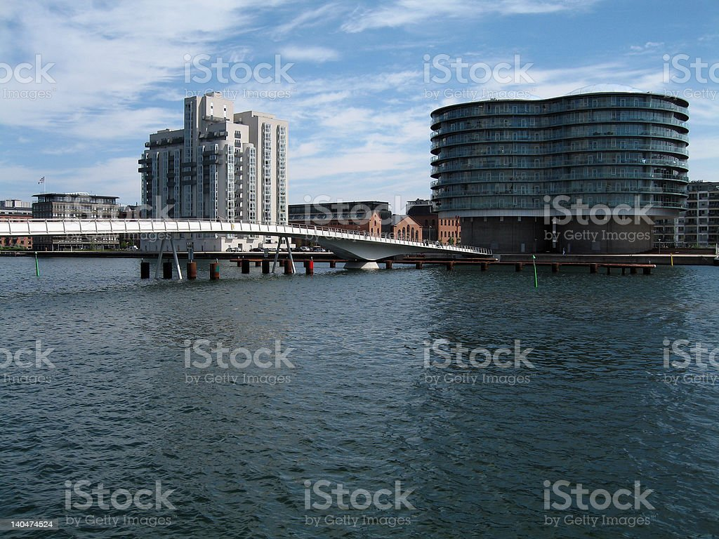 Islands Brygge stock photo