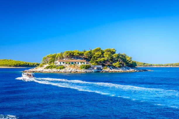 Inseln in Kroatien, Mittelmeer. – Foto