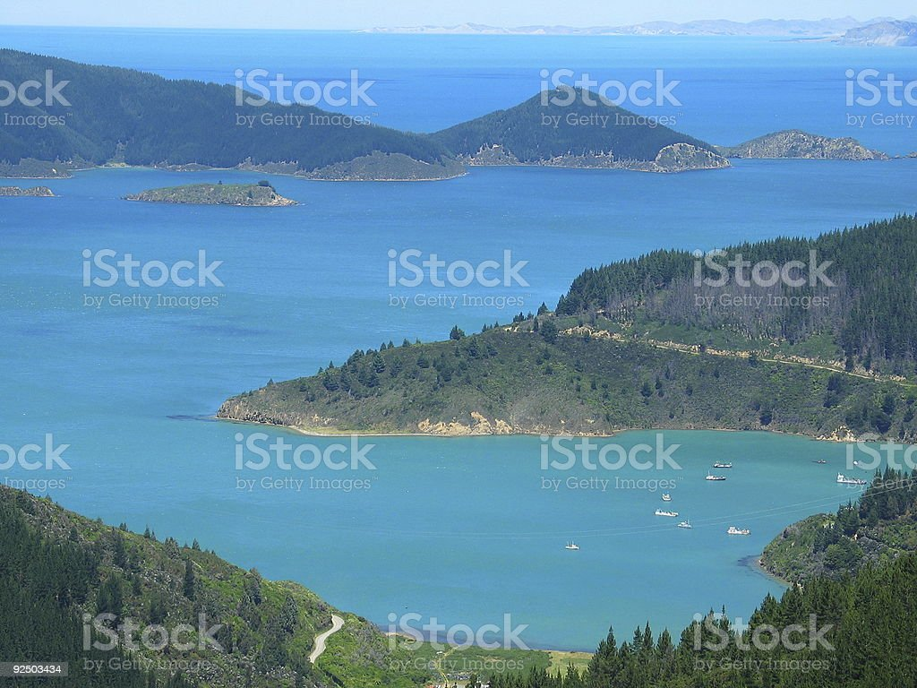islands in the sea royalty-free stock photo