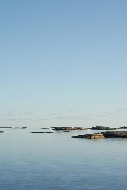 islands in the sky stock photo