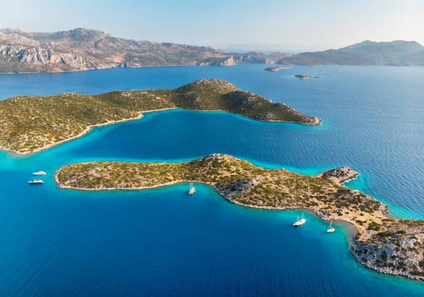 Islands, Mediterranean Coast, Turkey stock photo