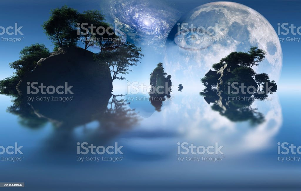 Islands stock photo
