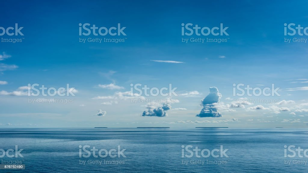 3 islands stock photo