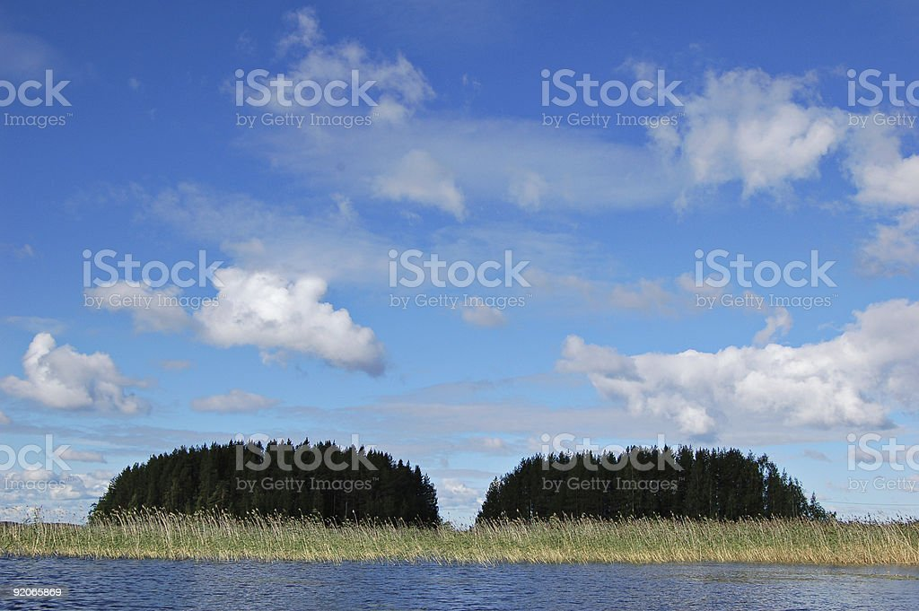 Islands royalty-free stock photo