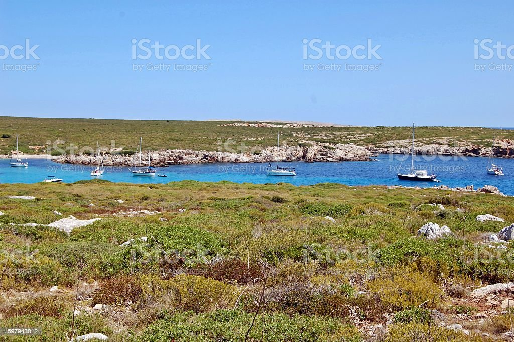 Islas Baleares stock photo