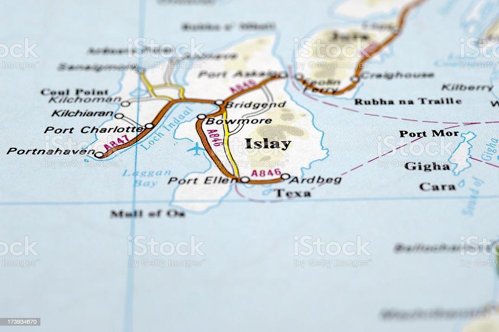 Islay, Scotland stock photo