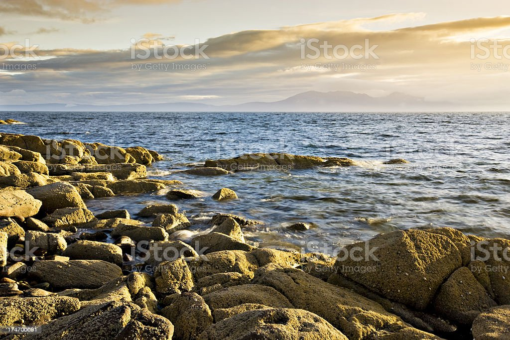 Isle of Arran royalty-free stock photo