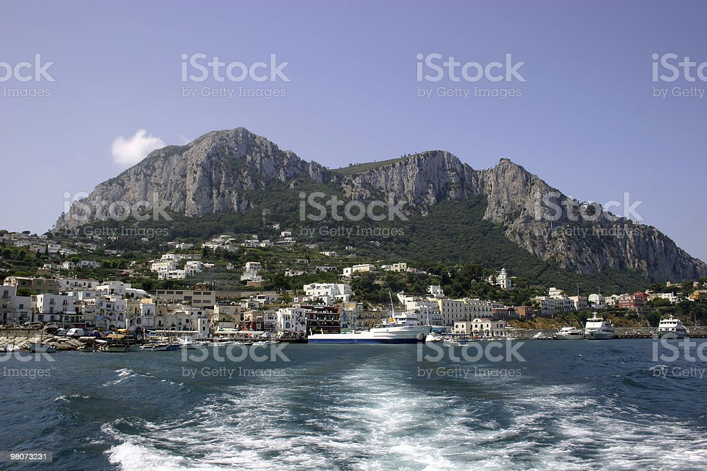 Isle of Capri, Naples royalty-free stock photo
