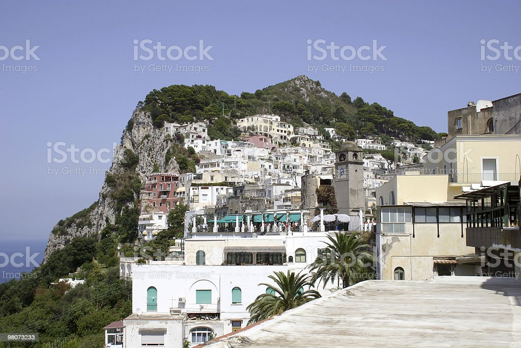 Isle of Capri, Naples royalty-free stock photo