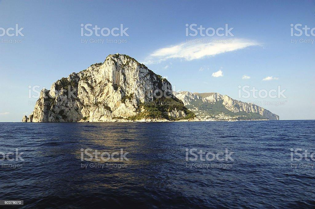 Isle of Capri Lizenzfreies stock-foto