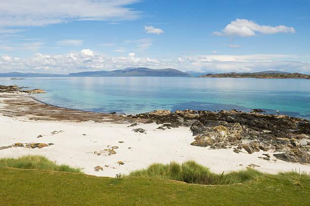 Isle of Iona stock photo