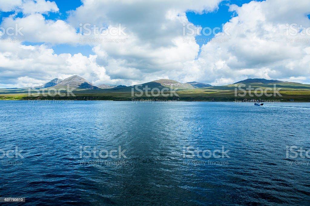 Isle of Jura, Scotland stock photo