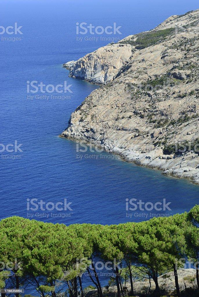 Isle of Monte Cristo royalty-free stock photo