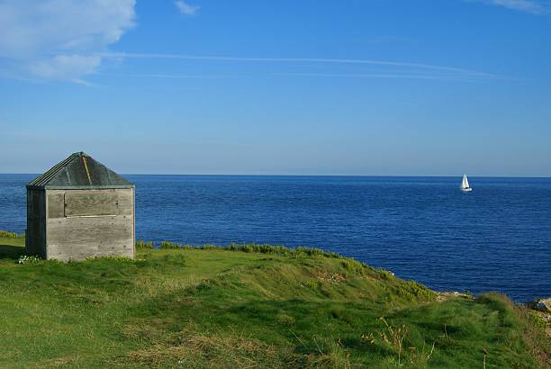 Isle of Portland, Dorset England stock photo