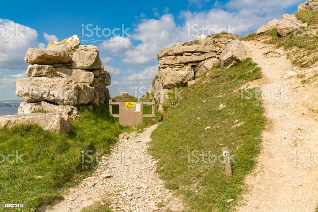 Isle of Portland, Jurassic Coast, Dorset, UK stock photo