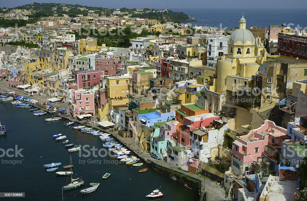 isle of procida stock photo