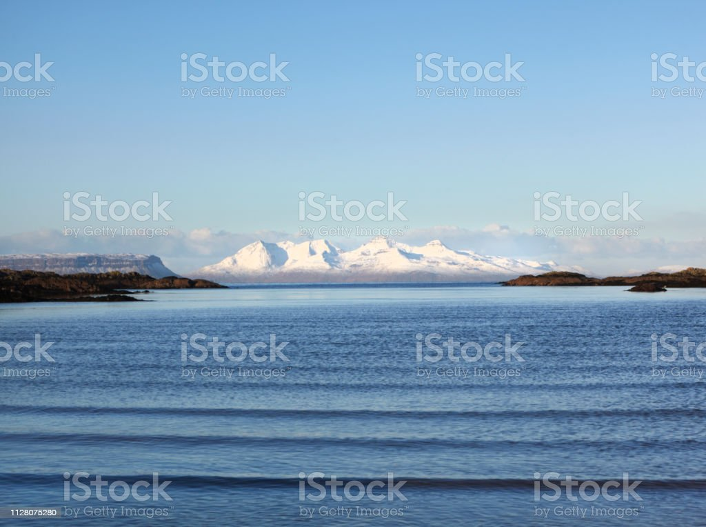 Isle of Rum, Scottish Highlands, Scotland, UK stock photo