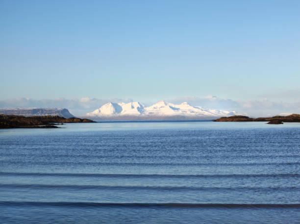 Isle of Rum, Scottish Highlands, Scotland, UK stock photo