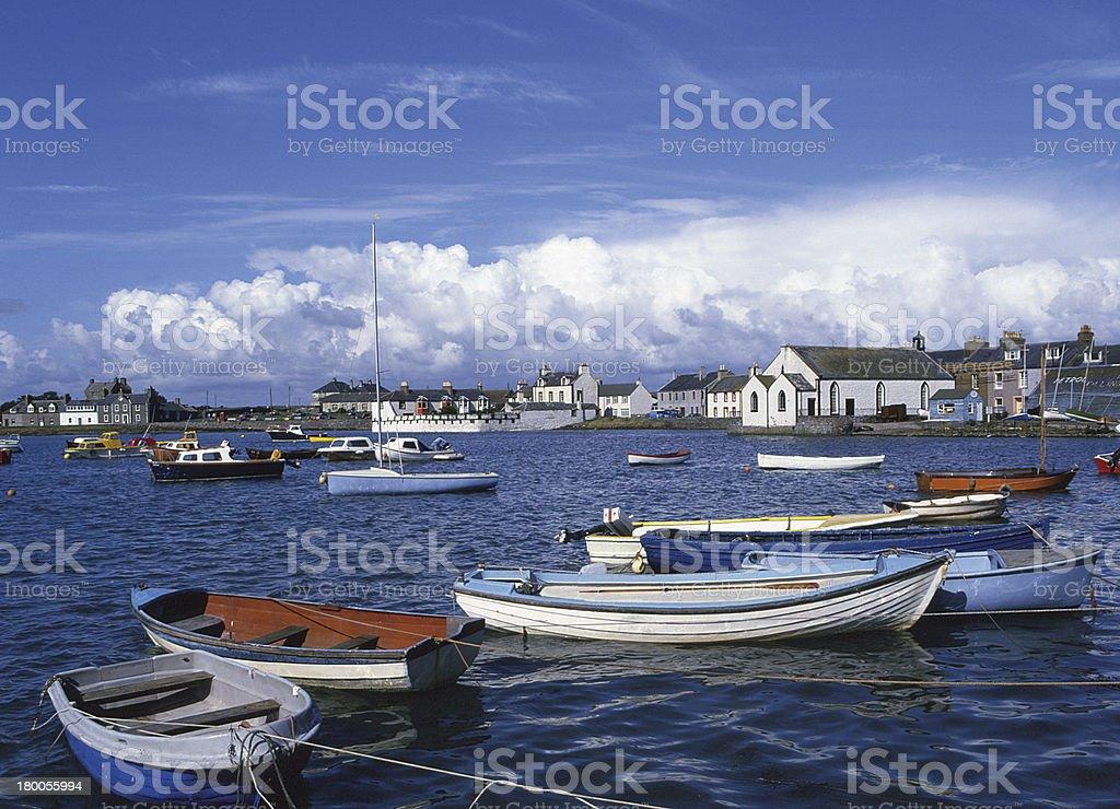 Isle of Whithorn, Wigtownshire, Scotland stock photo