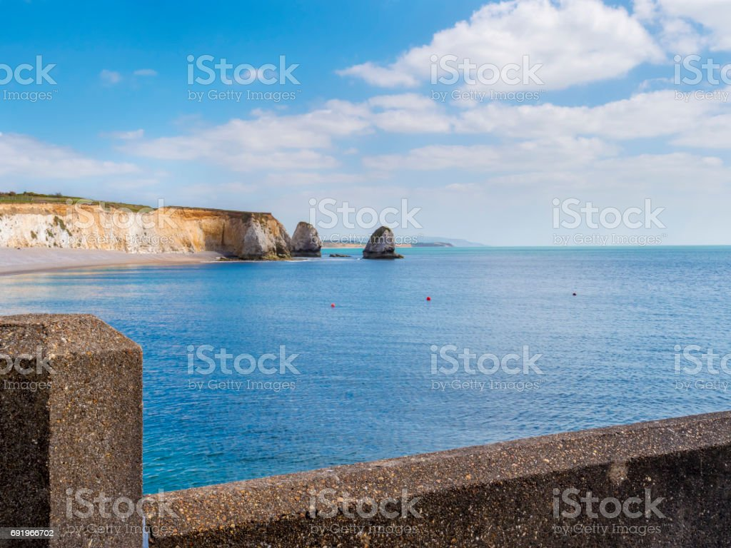 Isle of Wight tourist attraction in summer stock photo