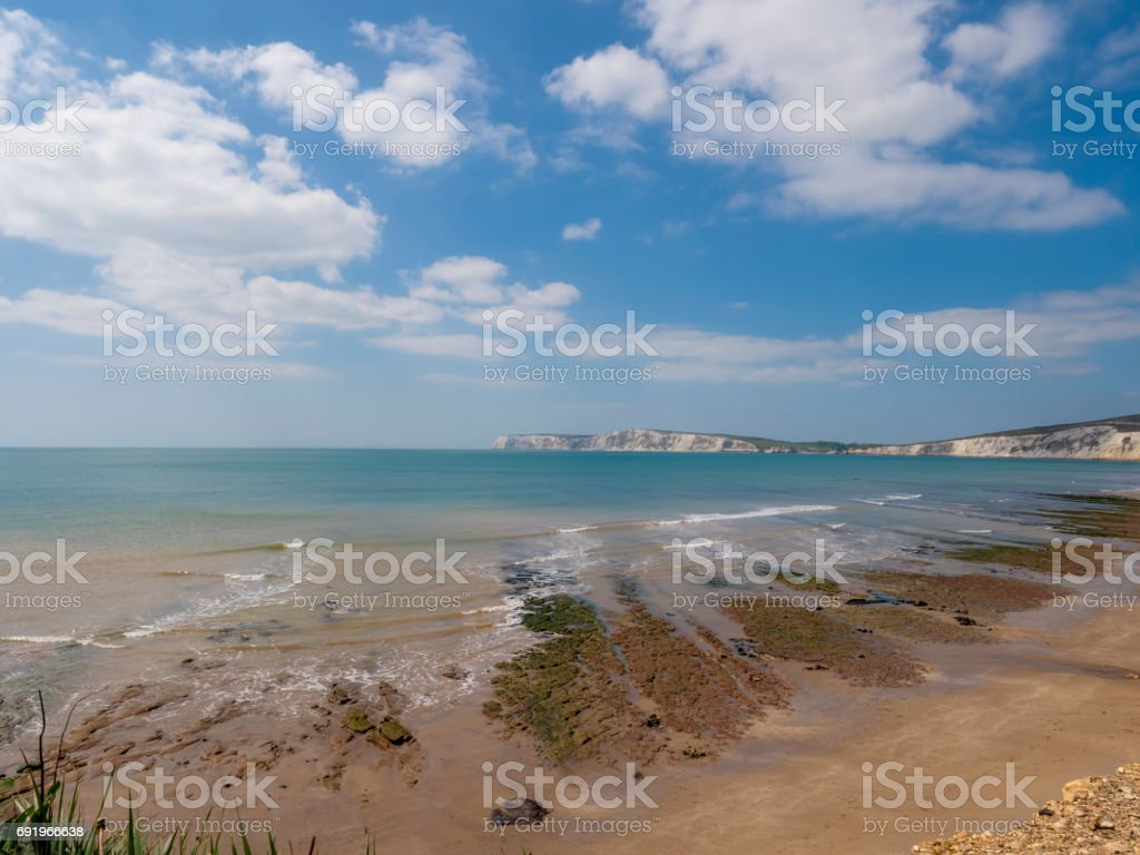 Isle of Wight tourist attraction stock photo
