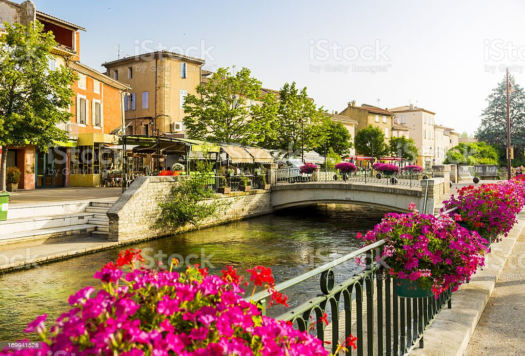 L'Isle-sur-la-Sorgue - Provence, France royalty-free stock photo