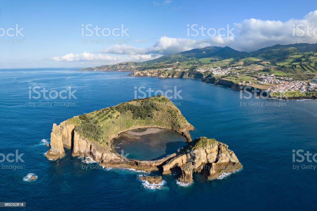 Insel von Vila Franca do Campo, Azoren, Portugal – Foto