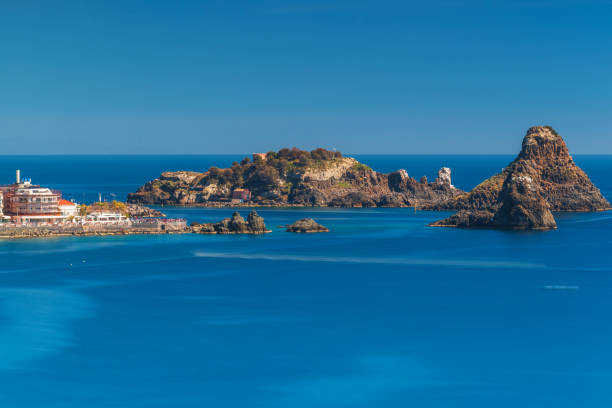 islets on the sea in Sicily, Italy – zdjęcie