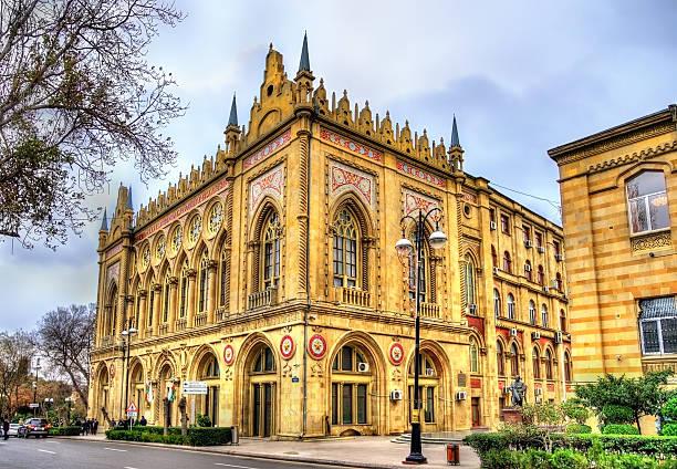 Ismailiyya Palace, a historic building in Baku stock photo