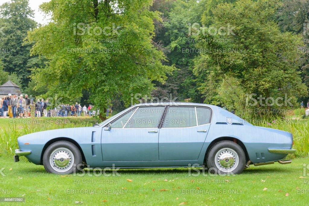 Iso Rivolta Fidia Or Iso Fidia Classic Italian Fourdoor Sedan Stock Photo Download Image Now Istock