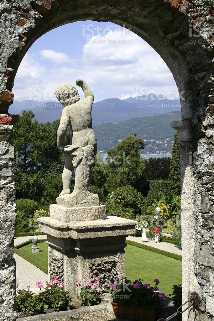 Isola Bella, Lake Maggiore royalty-free stock photo