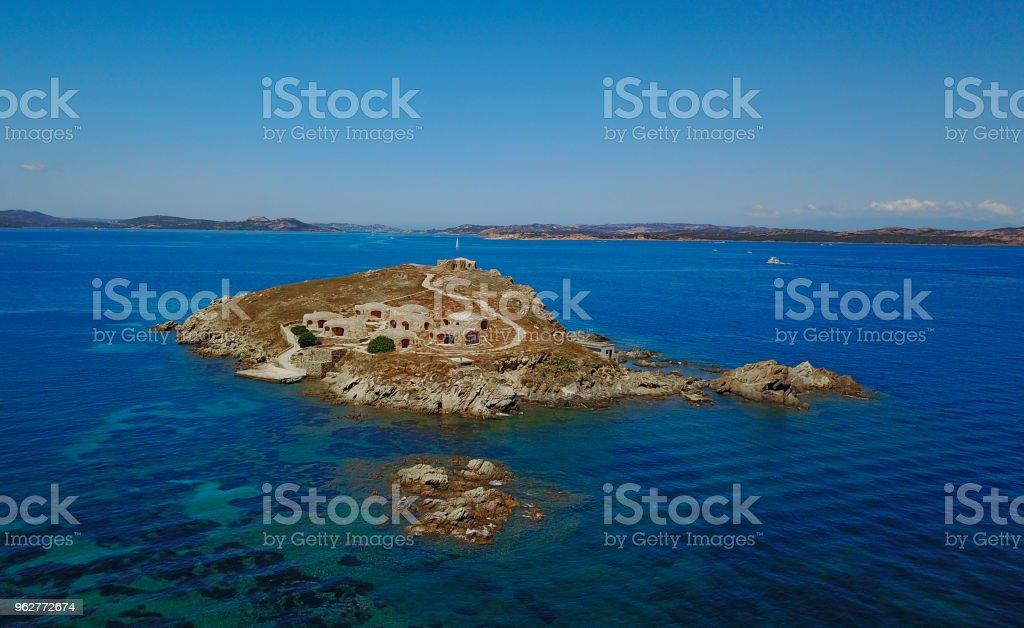 Isola dei Cappucini - Foto de stock de Arquipélago royalty-free
