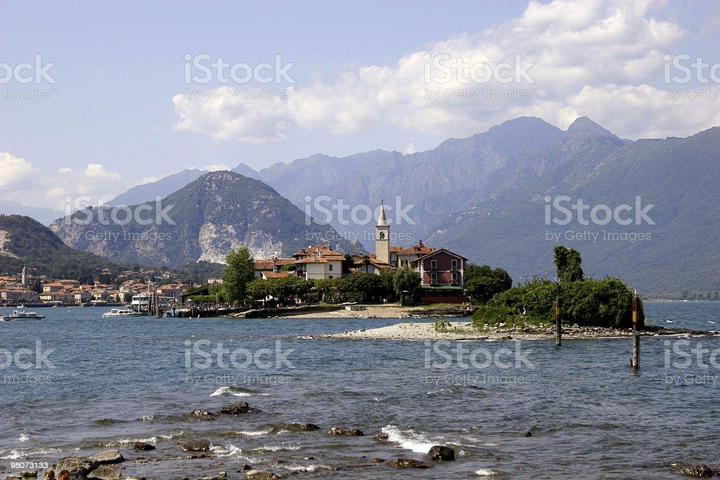 Isola dei Pescatori, Lago Maggiore royalty-free stock photo