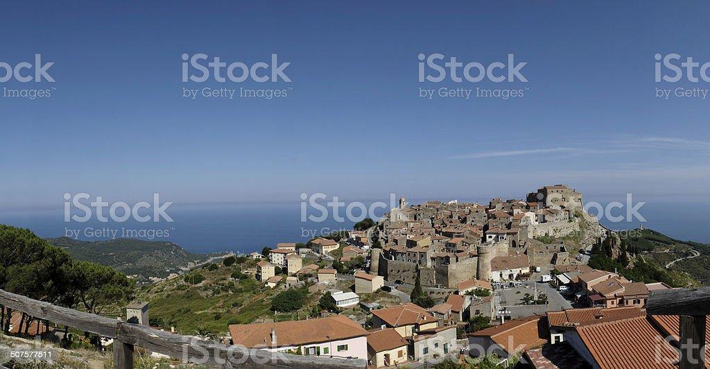 Isola del Giglio stock photo