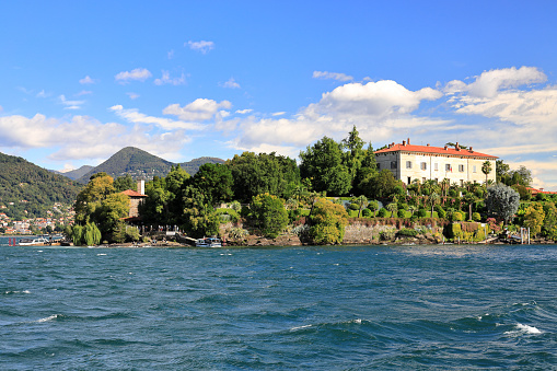 Isola Madre (Mother Island). Lake Maggiore, Italy, Europe.