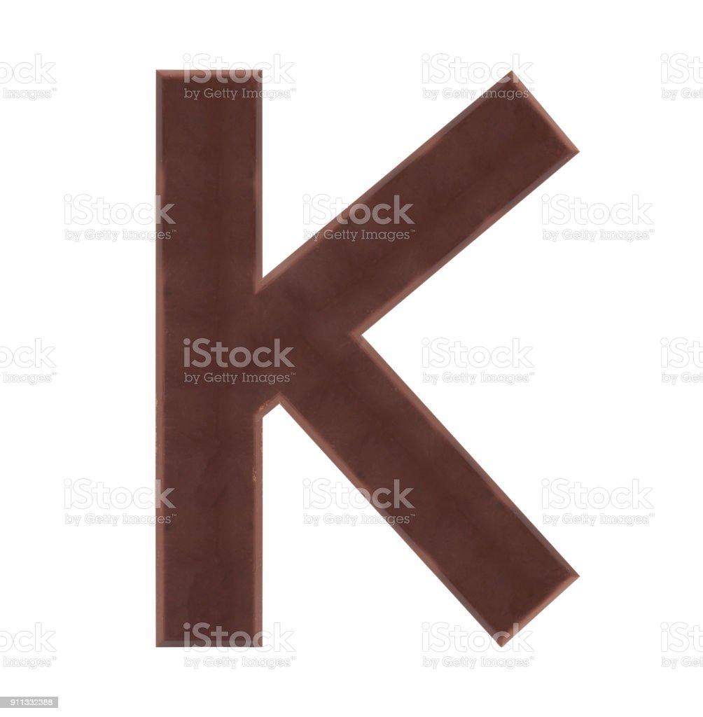 Isolate Chocolate Alphabet - Стоковые фото Абстрактный роялти-фри