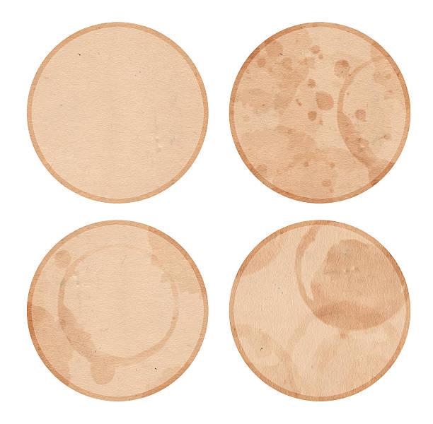 Isolate Coasters stock photo