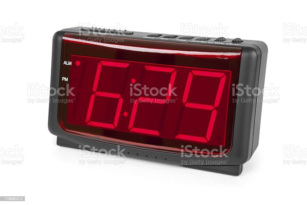 Isolated Alarm Clock stock photo